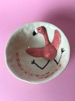 Flamingo Juleskål fra AE Keramik