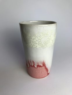 te eller kaffe sæt med kop, underrkop, si og ske fra Chandini Ceramics
