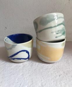 keramik krus fra Landskabts tivoli serie
