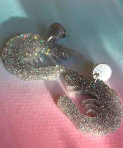 stor glitter reje lavet i glimmer plexiglas fra Saisall