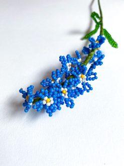 Maj Perle Blå Forglemmigej Perleblomst