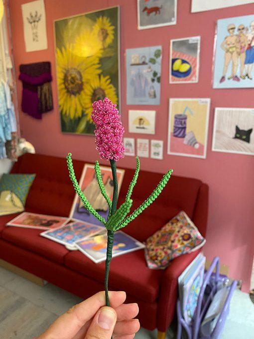 Maj Perle Pink Hyacint Perleblomst