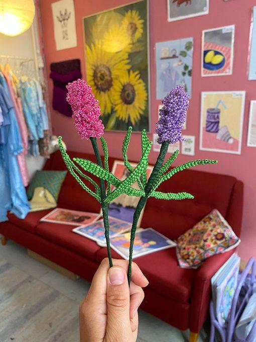 Maj Perle lilla og pink hyacint perleblomst