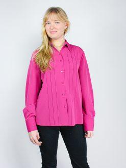 Pink vintage skjorte med flotte detaljer